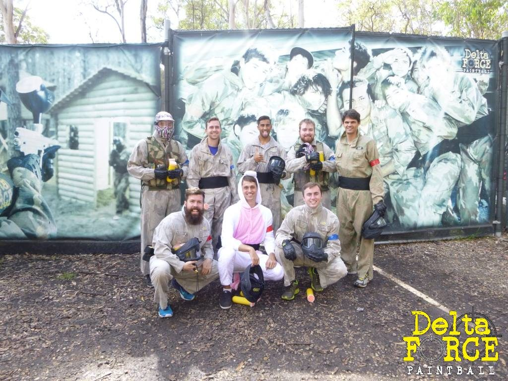 Bucks days at Delta Force Paintball