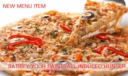 New menu item - pizza
