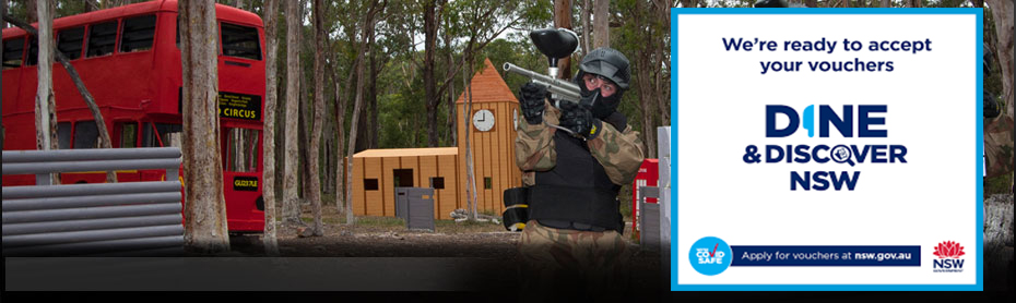 Delta Force Paintball Appin, Sydney London Game Zone