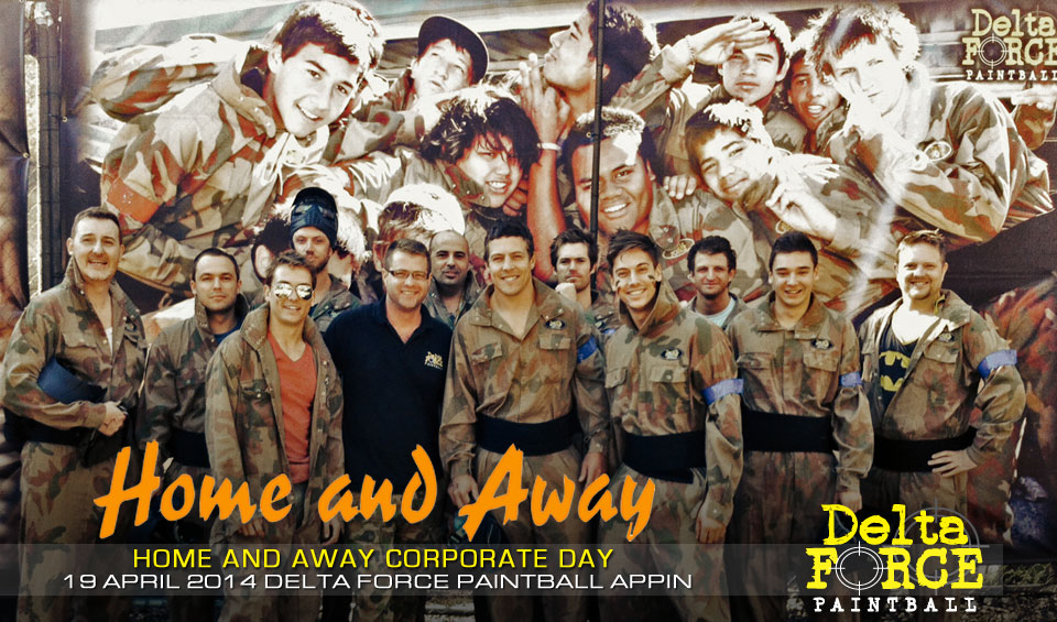 Home and Away Corporate Day - Delta Force Paintball Sydney