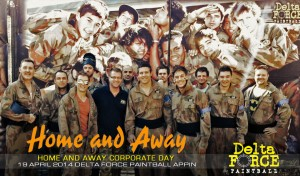 Home and Away Delta Force Paintball Corporate Day