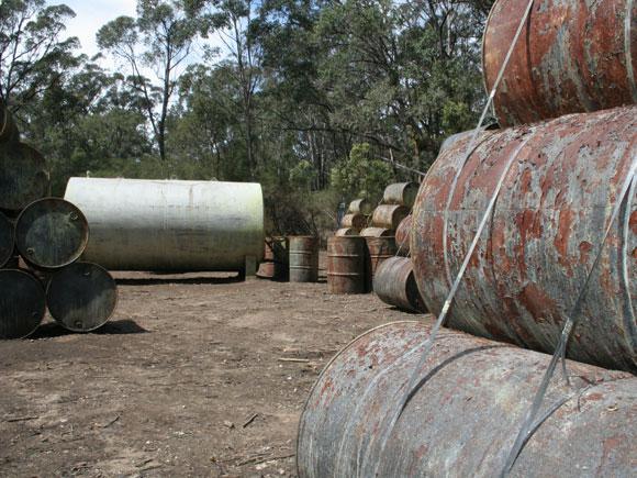Fuel dump