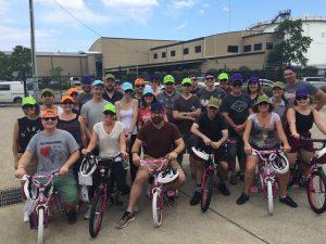 Staff at bikes