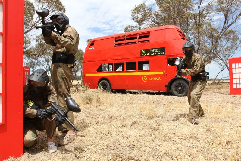 A day at Delta Force Paintball