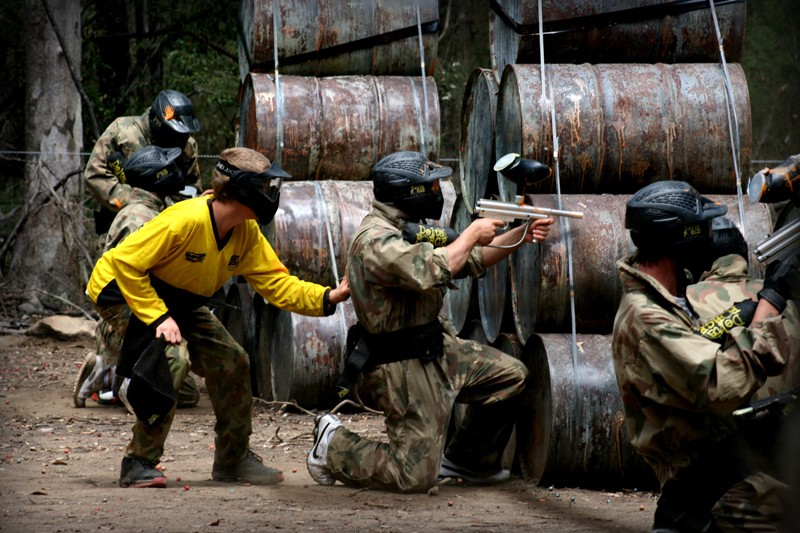what to wear to paintball