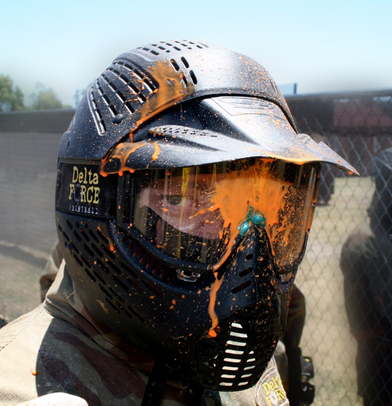 3 rules of paintball