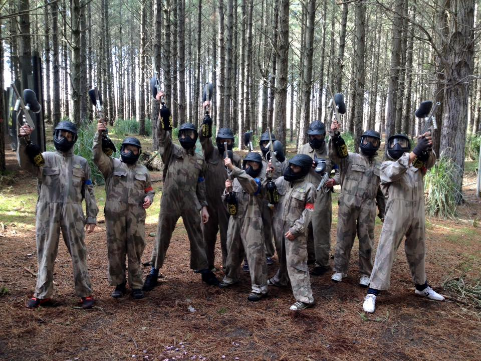 great day at paintball